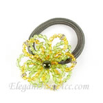 [Anna & Paul] Ponytail Holder -  Crystal Corsage