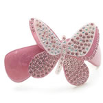 [Aznavour Paris] Hair Barrette - Large Butterfly