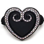 [Aznavour Paris] Ponytail Holder - Heart II