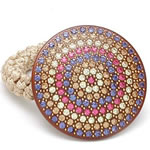 [Aznavour Paris] Ponytail Holder - Circle of Crystals