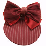 [EHA Premium A] Bun Holder / Bun Cover - SR Soft Lines Burgundy