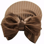 [EHA Premium A] Bun Holder / Bun Cover - SR Soft Lines Brown