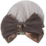 [EHA Premium] Bun Holders / Bun Covers - SR Fine Net Brown