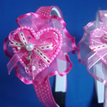 [EHA Premium K] Headband - Heart & Bow
