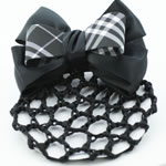 [EHA Premium] Bun Cover - Checker Bow
