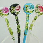 [E. Hair Accessories A] Hair Sticks - Wave Sticks