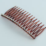 [EHA Premium] Hair Comb - One Row of Crystals