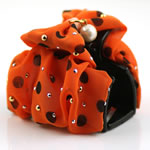 [EHA Premium] Hair Claw - LN Polka Dot in Orange