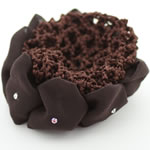 [E.H.A.Premium] Sunflower Bun Holder - Brown