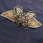 [EHA Premium] Hair Barrette - Like Feather Butterfly