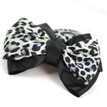 [EHA Premium] Bun Holder / Bun Cover - SR Animal Print Bow