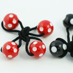 [EHA Premium] Kids Ponytail Holders - Balls with Polkadots