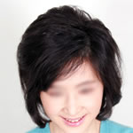[GM Wigs] Half Wig - Top Piece (Dark Brown #4/33M)