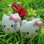 [Elegant Hair Accessories Kids] Ponytail Holder set - Kitty
