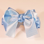 [E. Hair Accessories K] Kids Hair Pin - Tiny Polka Dot Bow