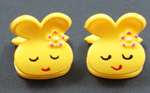 [E. Hair Accessories] Kids Mini Claw Set - Sleepy Bunnies