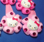 [Elegant Hair Accessories Kids] Hair Clips - Kitty II