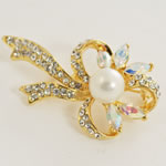 [E. Hair Accessories] Fashion Brooch - Gentle Bow