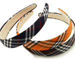 [E. Hair Accessories] Headband - Simple Plaid Band