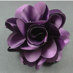 [E. Hair Accessories] Hair Barrette - Silk Flower