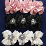 [E. Hair Accessories] Hair Barrette - Bow with Crystals