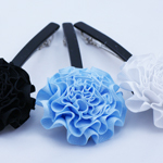 [E. Hair Accessories] Hair Barrette - Carnation Flower