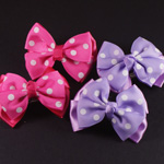 [E. Hair Accessories K] Kids Hair Barrette  Set - Bow