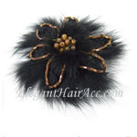 [Anna & Paul] Hair Barrette -  Snow Flower