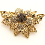[Eternel] Brooch - Flower with leaves