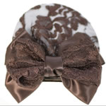 [EHA Premium A] Bun Holder / Bun Cover - SR Garden Brown