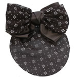[EHA Premium] Bun Holders / Bun Covers - SR White Daisies in Brown