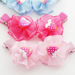 [EHA Premium K] Kids Hair Clip Set - Strawberries