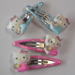 [EHA Premium K] Kids Hair Pins - Kitty & Glittering Pin
