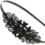 [EHA Premium] Headband - Black Flower Bouquette