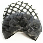 [EHA Premium] Bun Holders / Bun Covers - Chiffon in Black