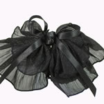 [EHA Premium] Bun Holders / Bun Covers - Glittering Black