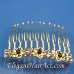 [Eternel] Bridal Hair Combs - Marigold
