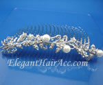 [Eternel] Bridal Hair Combs-Pearl Bouquet