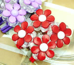 [E. Hair Accessories K] Ponytail Holders - Daisy Set