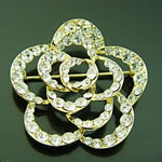 [E. Hair Accessories] Fashion Brooch - Rose