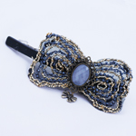 [E. Hair Accessories] Hair Barrette - Antique Bead (L)